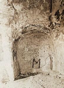 Алтарь Никольского храма до реставрации