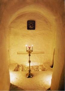 Древняя усыпальница