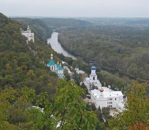 Панорама Северского Донца