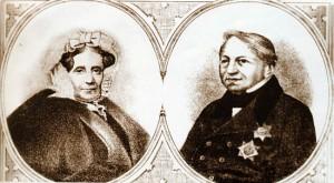 Татьяна Борисовна и Александр Михайлович Потемкины, владельцы Святых гор