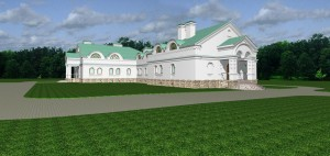 Проект гостиничного корпуса скита в с. Адамовка.