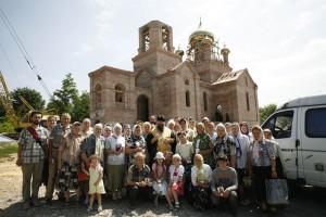 Строящийся храм святителя Иоанна Сан-Францисского в с. Адамовка.