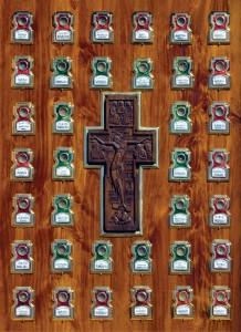Мощевик с мощами святых угодников Божиих