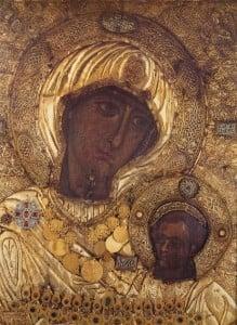 Список Чудотворной иконы Иверской Божией Матери