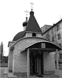 Свято-Пантелеимоновский храм при Ждановской исправительной колонии №3