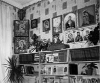Фрагмент молитвенной комнаты