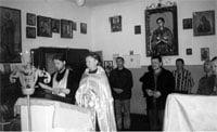 Божественная литургия в колонии