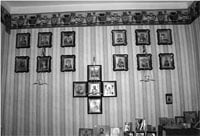 Иконостас молитвенной комнаты для лиц, осужденных к пожизненному лишению свободы