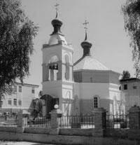 Храм в честь благоразумного разбойника Раха на территории Селидовской колонии № 82