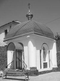 Часовня прп. Серафима Саровского при Енакиевской исправительной колонии №52