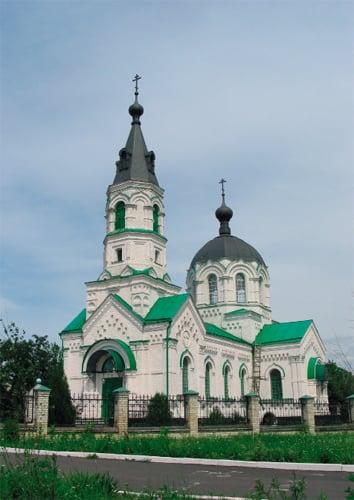 каменный холодный храм Святителя Николая Чудотворца